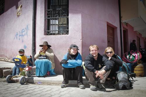 Avec les amis, on repasse en Bolivie...