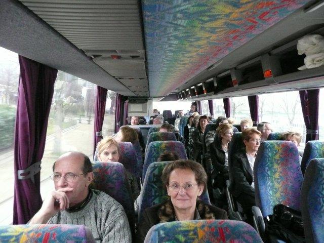 Dimanche 22 février 2009, en route vers la capitale .... au rdv culture et humour !!!!!!!