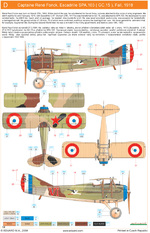 Planches couleurs Aviation 1ère G.M