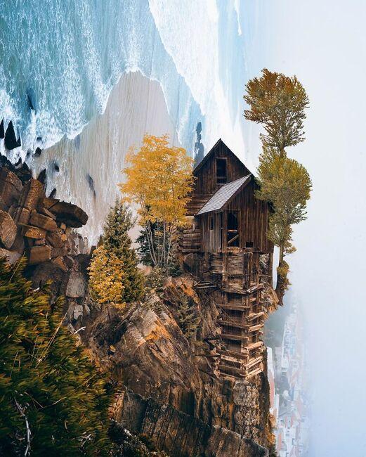 """Résultat de recherche d'images pour """"À quoi ressembleraient les paysages de nos rêves s'ils existaient quelque part dans l'univers ?"""""""