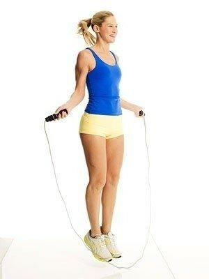 Прыжки на скакалке для борьбы с целлюлитом