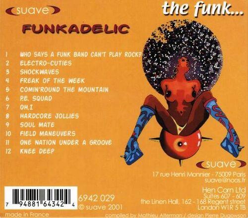 "Funkadelic : CD "" The Funk... "" Suave Records 6942 029 [ FR ]"