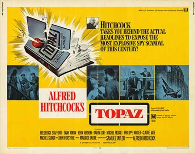 TOPAZ BOX OFFICE 1969