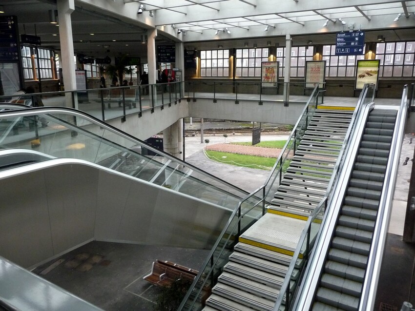 Gare d'Amiens, Avant-Après