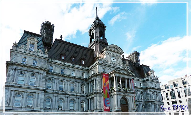 L'Hôtel de Ville - Montréal - Québec - Canada