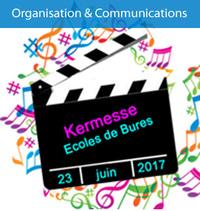 KERMESSE DES ECOLES DE BURES LE 23 JUIN 2017