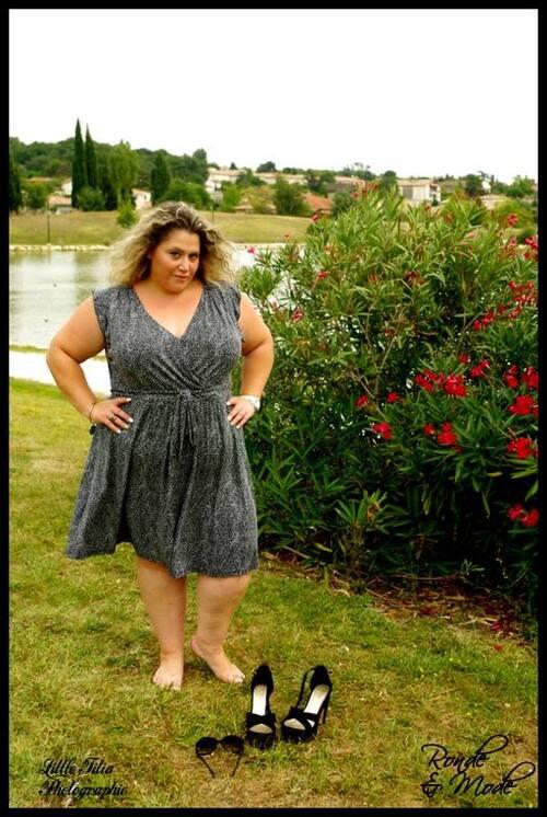 Promenade à Bruguiere en robe ms mode