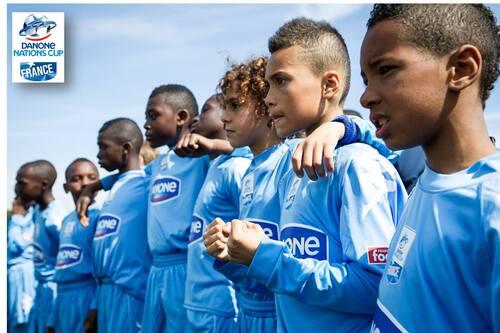 Cergy Pontoise vs Paris FC à la Danone cup