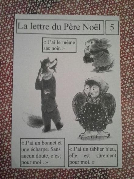 """-"""" La lettre du Père Noël"""" (5 et 6)"""