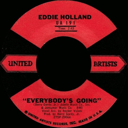 "Eddie Holland : CD "" It Moves Me : Complete Recordings 1958-1964 Disc 1 "" Ace Records CDTOP2 1331 [ EU ]"