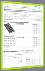 La multiplication au CE1