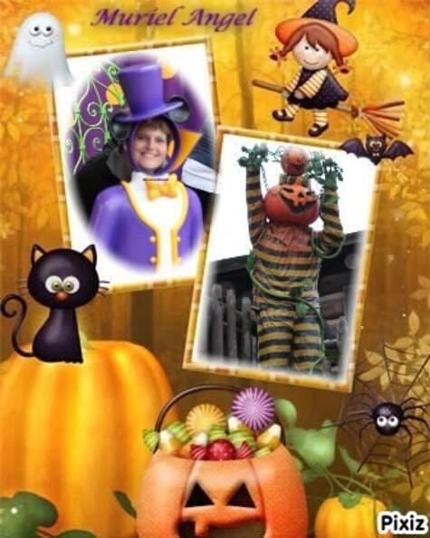Passée Une Bonne Fête D'Halloween