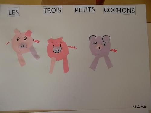 Activités sur les trois petits cochons