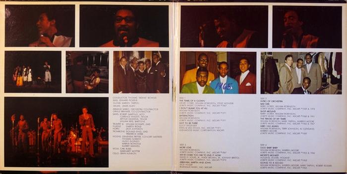 "Smokey Robinson & The Miracles : Album "" 1957 1972 "" Tamla Records T-320R2 [ US ]"
