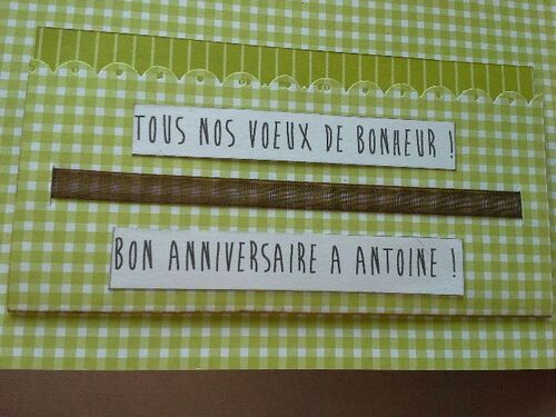 Carte de félicitations