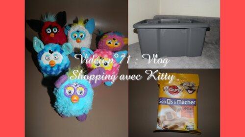Vlog# Shopping avec Kitty