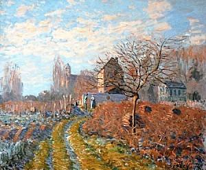 Alfred Sisley Gelee