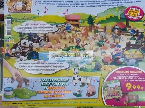 N° 1 Les animaux de la ferme audio - Test