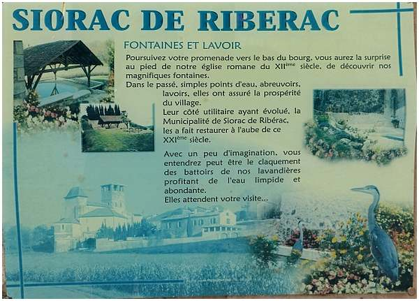 Siorac de Riberac ( Dordogne )
