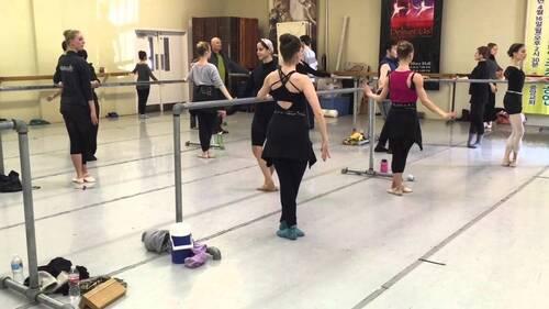 dance ballet class dancers studio