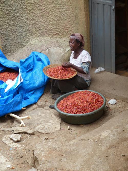 les petits marchés de rue
