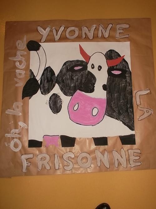 Nos vaches en pots de terre