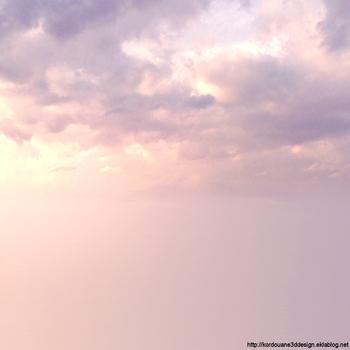 Pour création des fonds de ciel avec nuages