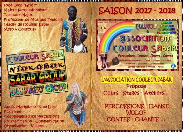 ASSOCIATION & COLLECTIF - COULEUR SABAR ©