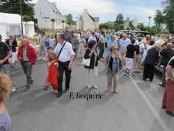 L'inauguration du bourg