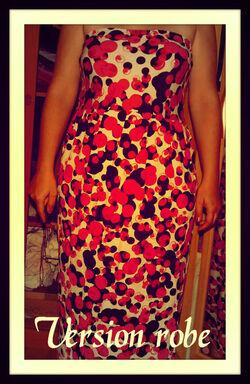 Une maxi jupe / robe de grossesse (ou pas)  3 en 1