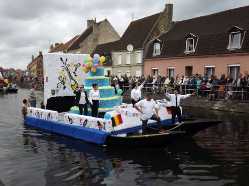 cortège nautique 2019, Saint-Omer