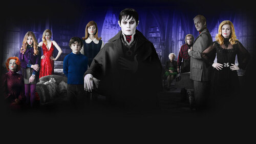 dark shadows casting