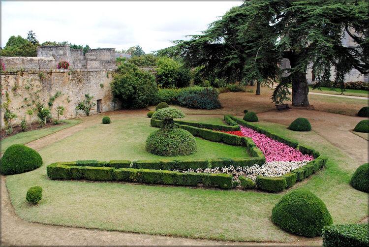 Photos des jardins du château de Montreuil Bellay