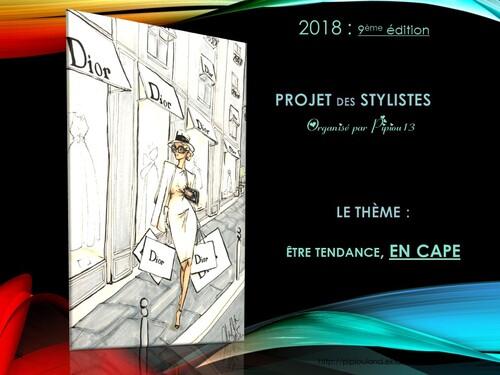 Défilé des Stylistes 2018 : Tendance en cape (14)