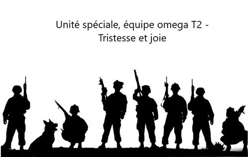 Unité spéciale, équipe omega T2 - Tristesse et joie : Chapitre 1