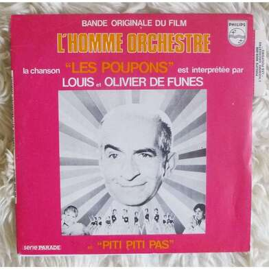 L'HOMME ORCHESTRE - BOX OFFICE LOUIS DE FUNES 1970
