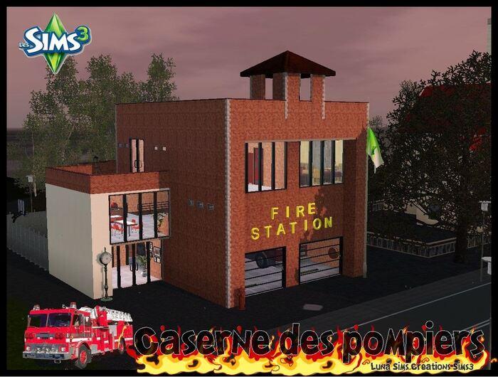 Caserne des pompiers