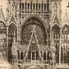 rouen cathédrale façade supérieure