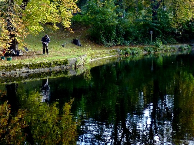 Metz les pêcheurs du canal de Jouy 11 Marc de Metz 23 10