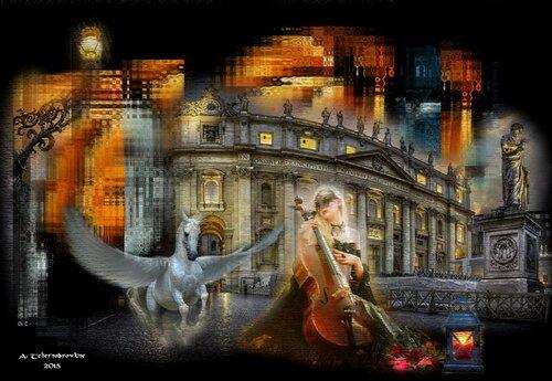 Le feu du Palais