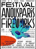 Le Festival A Nous Paris Fireworks pour une sortie amicale