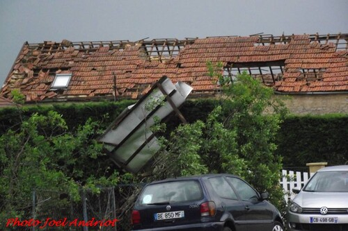 Une tornade dévastatrice dans le Châtillonnais, le 19 juin 2013...