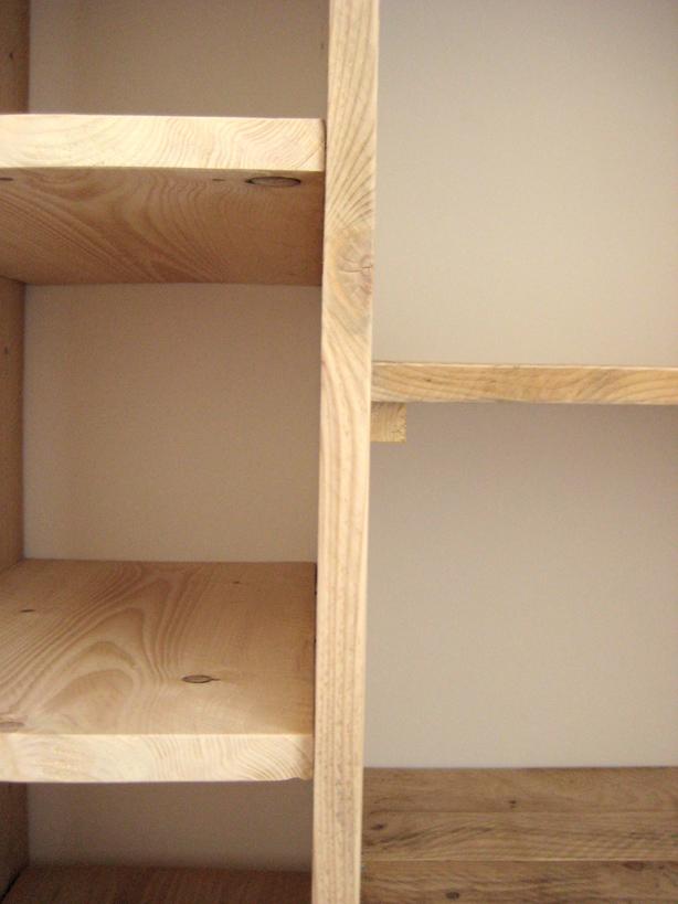 3 etag res dressing en bois de pin bois paille et autres productions - Fabriquer tiroir sous lit ...
