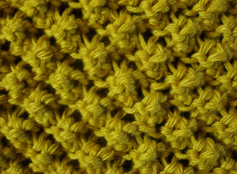 Les points ajour s tetenlaine - Point tricot facile joli ...