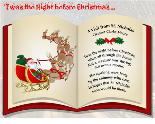 CM2/3 - Twas the Night before Christmas ...