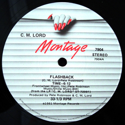 1981 : Single 12 Inch Montage Records 7904 [ US ]