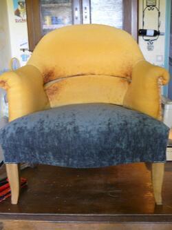 Les 2 assisses des fauteuils