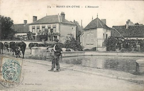 Famille Gillet Bussy-en-Othe (89)