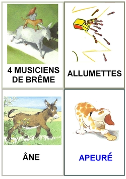 Les musiciens de Brême : les imag'mots