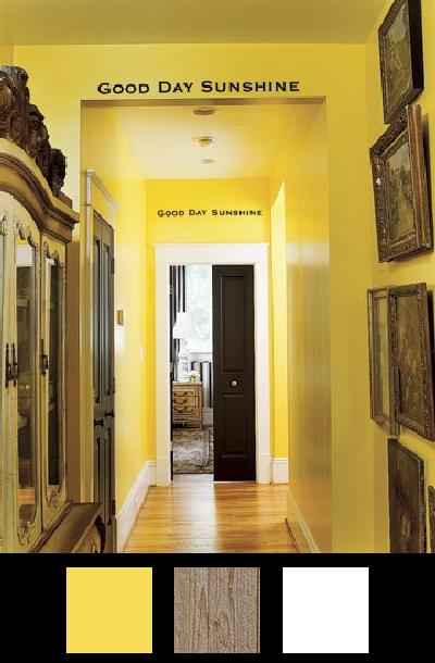 Les couloirs - Nuancier 2